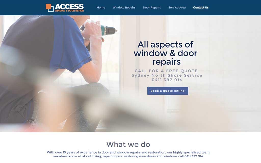 Access Window and Door Repairs