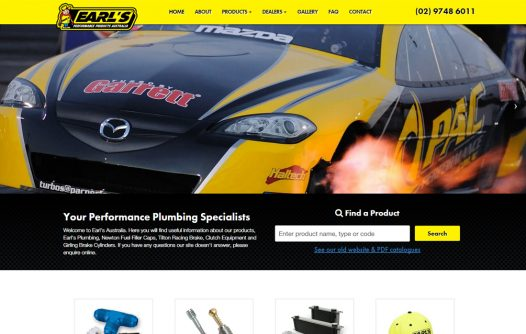 Earls Performance Products