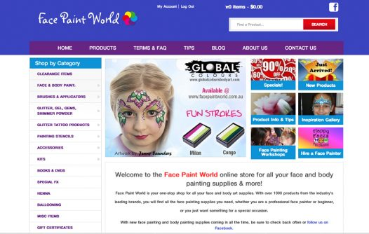 Face Paint World