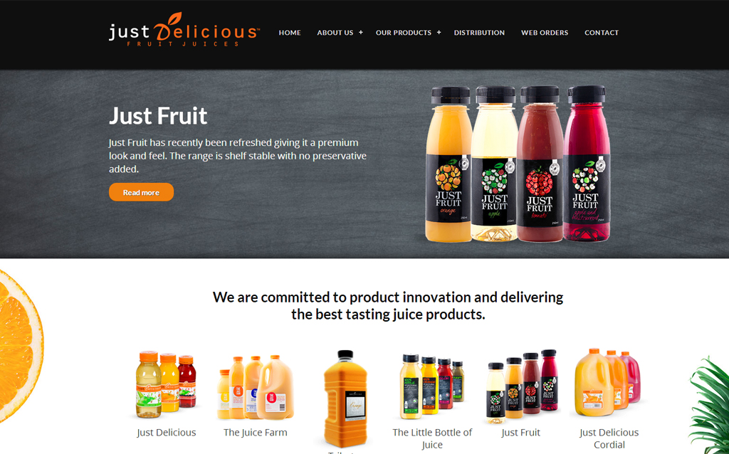 Just Delicious Fruit Juices